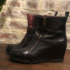 Marc by Marc Jacobs Ankle Boots with Wedge Heel
